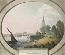 A view at Battersea, 1784